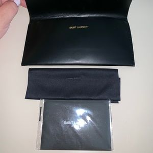 SOLD 🔥Yves Saint Laurent Sunglasses Leather Case